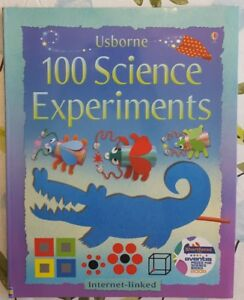 Activity Book - Kids 100 Science Experiments by Usborne