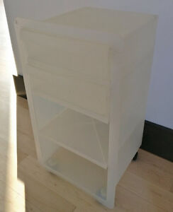 IKEA plastic cart with 2 drawers
