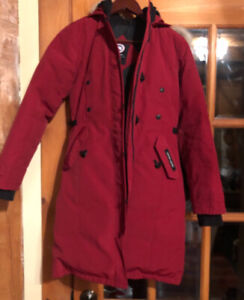 Canada Goose Kensington Parka 2XS Red for sale