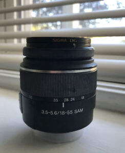 Sony DT 18-55mm F3.5-5.6 A-Mount Lens