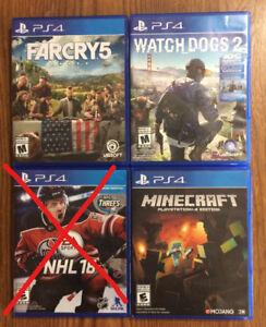 PS4 Games Plus Bundle