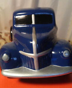 1940s style Ford Ceramic Blue Pickup Truck. Genuine Ford product