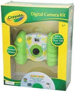 Crayola 2.1 Mp Camera, Green Cambridge Kitchener Area image 1