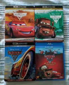 Cars Blu-Ray Movies