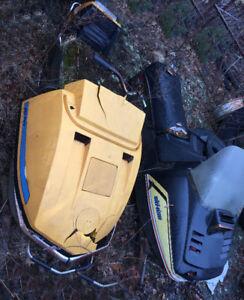 Older Skidoos for Parts