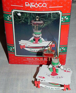 Enesco Casino Christmas Series 7 Mice / Mouse Ornaments London Ontario image 2