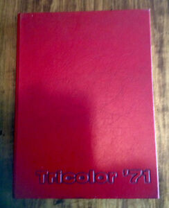 1971 Queen's University Tricolor yearbook
