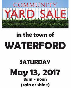 COMMUNITY WIDE YARD SALE - WATERFORD