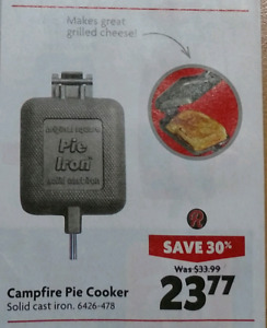 Wanted - Camp Fire Cooker/Pie Irons