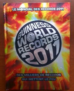 Livre guinness des records du monde 2011