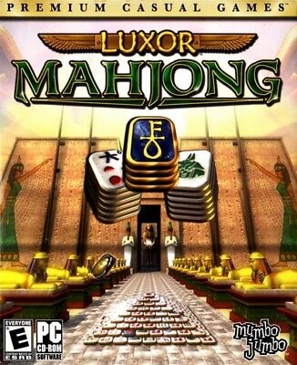 Computer Games - Luxor Mahjong PC Games Windows 10 8 7 XP Computer mah jongg puzzle match NEW
