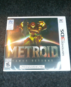 Metroid: Samus Returns brand new and sealed