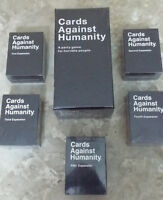 Cards Against Humanity - Base \ 5 Expansions - New & Sealed!