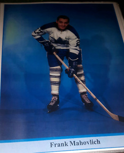 Toronto Maple Leafs Frank Mahovlich hockey picture print