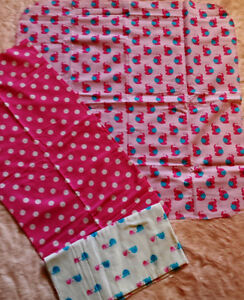 NEW Handmade Swaddle Blankets - flannel various sizes