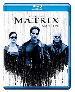 THE MATRIX Blu Ray Keanu Reeves