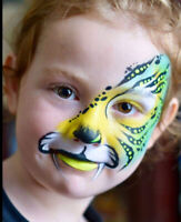 Professional , Experienced Face Painting; Fantasy Faces 101