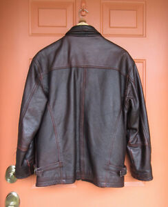 ORVIETO LEATHER BOMBER JACKET West Island Greater Montréal image 2