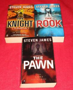 3x Steven James paperback novels