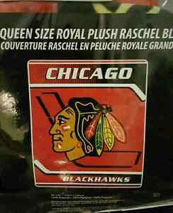 NHL Hockey Blankets on Warehouse sale Queen size $70...