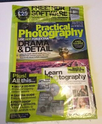 Practical Photography Magazine Drama & Detail  Free Cd August 2015