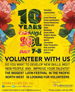 Volunteering opportunities- Production and Logistics Manager