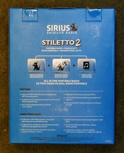Sirius Stiletto 2 portable receiver and MP-3 player Peterborough Peterborough Area image 3