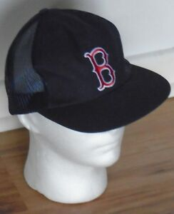 BOSTON RED SOX CLASSIC TRUCKER MESH CAP NEW WITH TAGS DARK NAVY