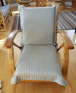Beautiful chair with cushion seat/back