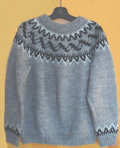 Hand Knitted Sweater/Pullover (Lopi pattern)