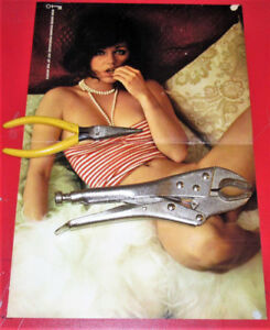 VINTAGE 1974 PARTIALLY NUDE WOMAN POSTER - X RATED FEMME NUE 70S