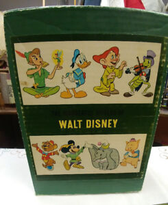 1965 Walt Disney Set of 4 Childrens Books