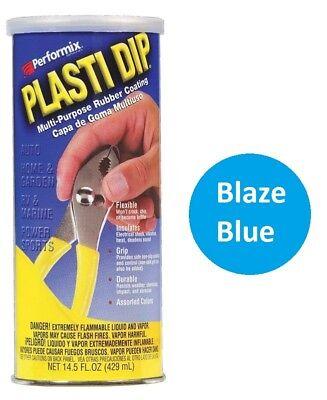 Blaze Blue 14.5oz Performix Plasti Dip Plastic Multi Rubber Grip Coating Handle