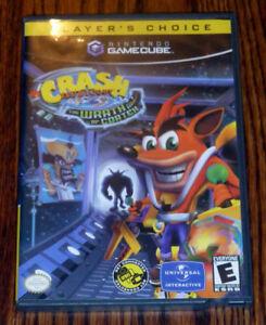 Nintendo Wii Gamecube Crash Bandicoot The Wrath of Cortex