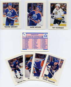 Hockey Card Sets for sale: 1987-88 OPC minis