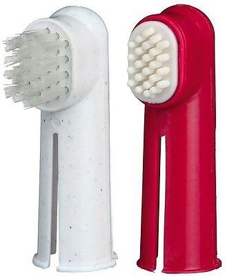 TRIXIE DITO Spazzolino da denti SET CANI & GATTI & massaggio pulizia