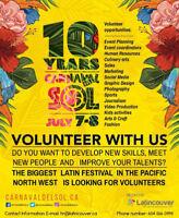 Volunteering opportunities- Beer Garden Plaza Coordinator