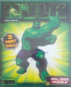 Large Marvel The Incredible Hulk Pal size (3 feet tall) Puzzle