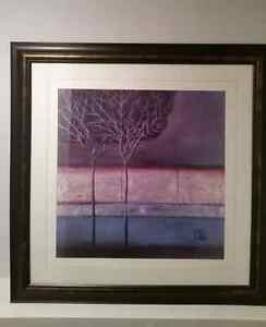 Beautiful framed picture 35x35