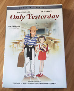 Only Yesterday Studio Ghibli DVD! London Ontario image 1