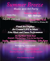 Summer Breeze Music and Art Party