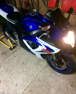 06 GSXR 600 Sell or May trade For winter Truck