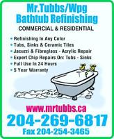 Mr.Tubbs/Bathtub Refinishing LTD.