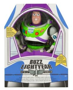 """NEW Toy Story Advance 12"""" Buzz Lightyear Talking Action figure"""