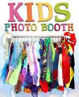 Photo Booth For Child's Birthday Party!