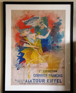 Vintage 1895 Poster by Jules Cheret -Father of the modern poster