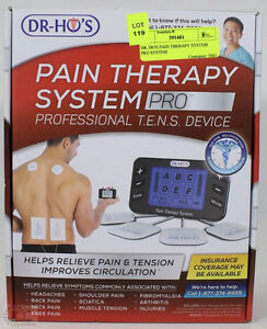 NEW DR HO'S Pain Therapy System PRO - ULTIMATE Pkg w/extra's