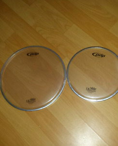 """New Drum heads, 8"""" and 10"""" $5 each"""