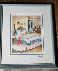 "Shirley Deaville Limited Edition Print ""Bless Me Too"" #468/570"