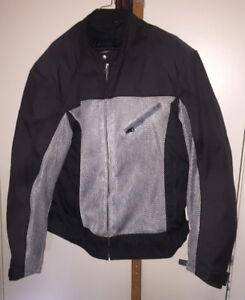2 Motorcycle jackets excellent condition.for sale/trade